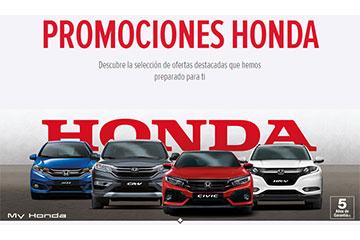 Descuentos adicional en Honda Civic, HR-V, CR-V, Jazz durante este mes de Marzo