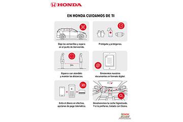 En Honda automoviles Alicante CUIDAMOS DE TI